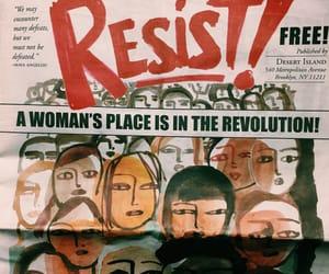 art, girl, and feminism image