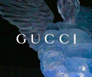 gucci, angel, and aesthetic image
