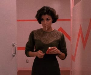 Twin Peaks, smoking, and Audrey Horne image