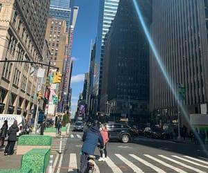 big apple, buildings, and nyc image