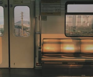 aesthetic, train, and subway image