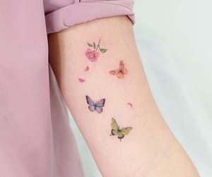 butterfly, sweet, and tattoo image