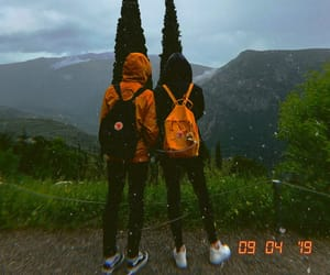 aesthetic, best friends, and mountain image