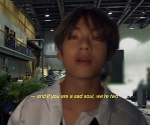 aesthetic, sadness, and bts image