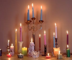 atmosphere, candles, and colorful image