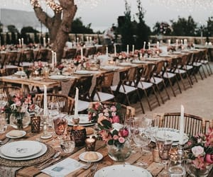 decor, wedding, and wedding planner image
