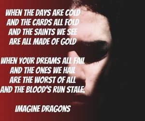 imagine dragons, demons, and Lyrics image