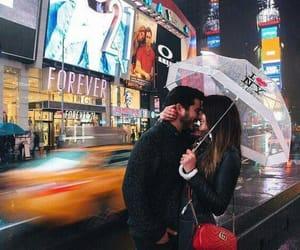 couple, kiss, and travel image