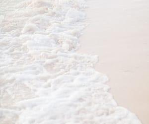 sea, white, and beach image