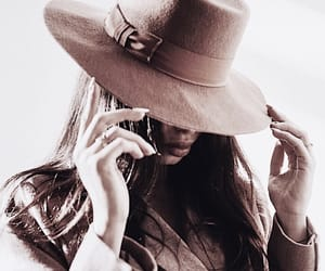 fashion, fedora, and girl image