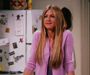 Jennifer Aniston, friends, and 90's image