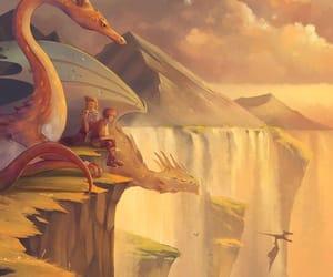 dragon, fantasy, and boys image