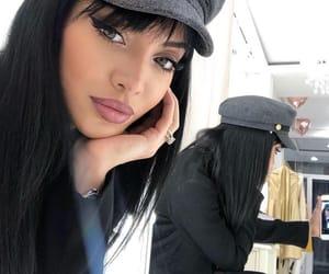 beautiful girl, beauty, and black image