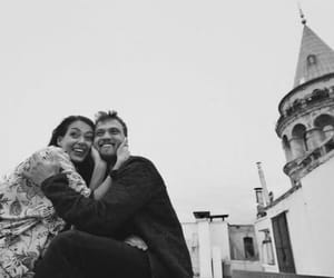 black, couple, and istanbul image