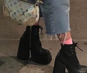 fashion, grunge, and heels image