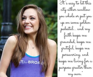 acting, laura osnes, and actress image