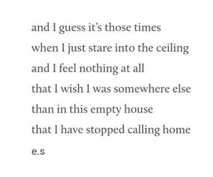 home, poem, and poetry image