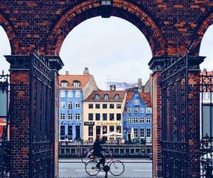 city, travel, and bike image