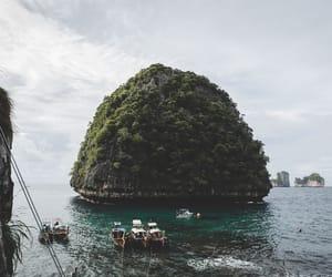 Island, sea, and summer image