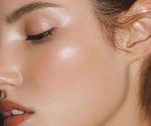 beautiful, girl, and skin image