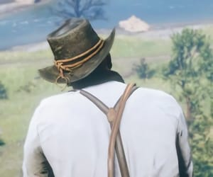 game, rdr2, and gaming image