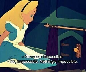 alice in wonderland, alice, and impossible image