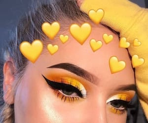 makeup and yellow image
