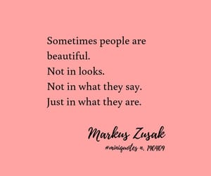 inspiration, markus zusak, and pink image