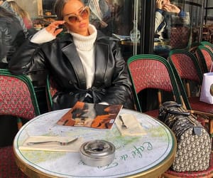 coat, dior, and fashion image