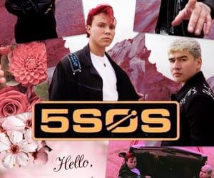 wallpaper, 5sos, and luke hemmings image