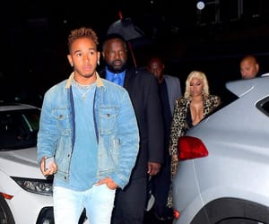 lewis hamilton and nicki minaj image