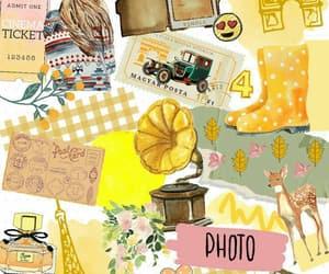 amarillo, background, and beautiful image