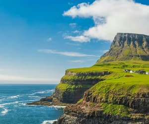 cliff, cliffs, and scotland image