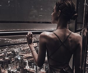 city lights, fashion, and style image