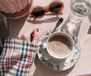clothes, coffe, and day image