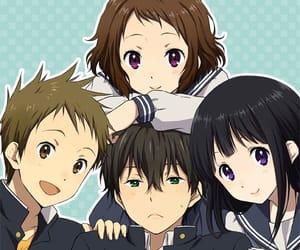 anime, kawaii, and hyouka image