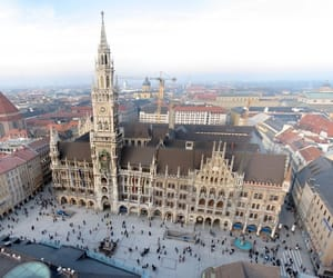 historical, munchen, and city center image