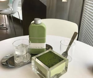 green, aesthetic, and food image