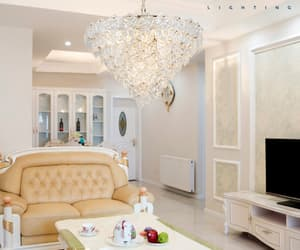 modern chandeliers, crystal chandelier, and home decor lighting image