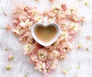 beautiful, coffee, and love image
