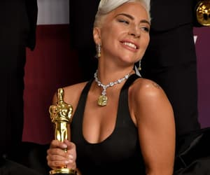 gaga, Lady gaga, and oscars image