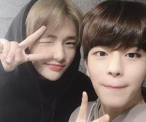 hyunjin, seungmin, and hwang hyunjin image