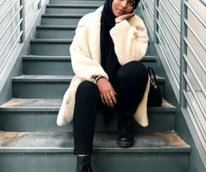 black girl, invierno, and winter outfit image