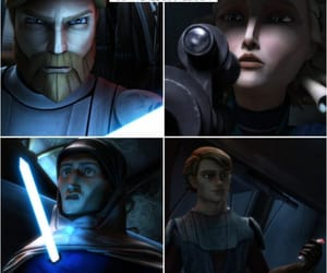 Anakin Skywalker, star wars, and the clone wars image
