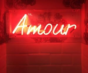 red, light, and amour image