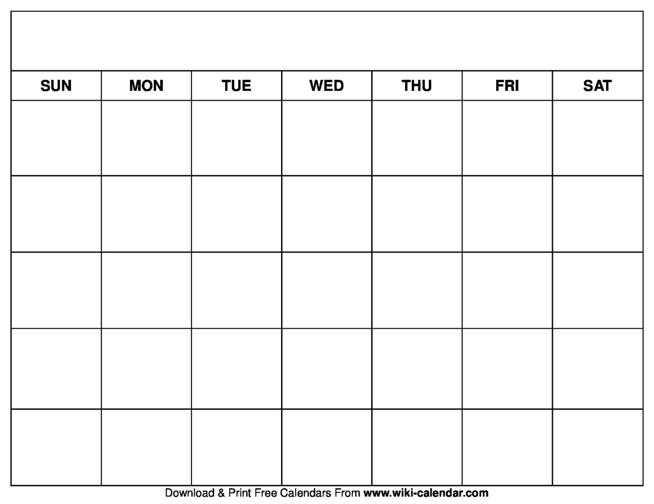 image about Printable Free Calendars titled Printable Blank Calendar Templates upon We Middle It