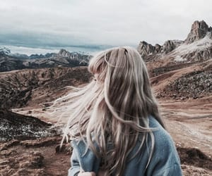 hair, indie, and nature image