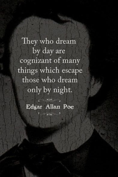 edgar allan poe quotes about dreams on We Heart It
