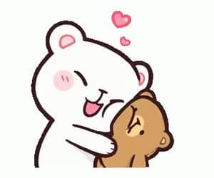 bears, gif, and hug image