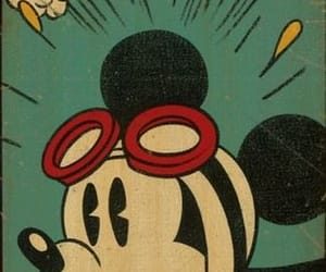 mickey, disney, and vintage image